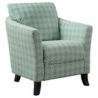 Upholstered Chair - Green - Monarch Specialties
