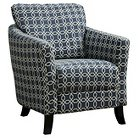 Upholstered Chair - Blue - Monarch Specialties