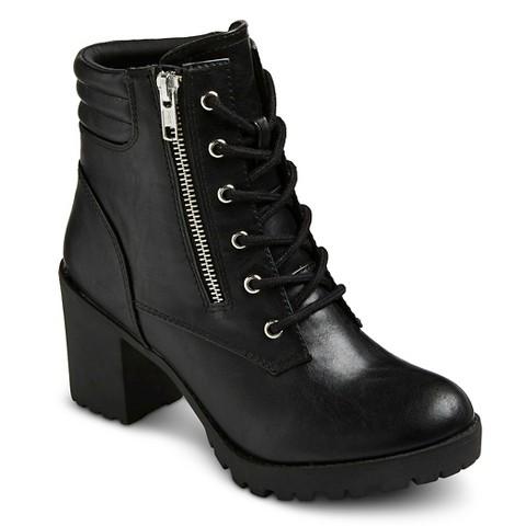s easton chunky heel combat boots target