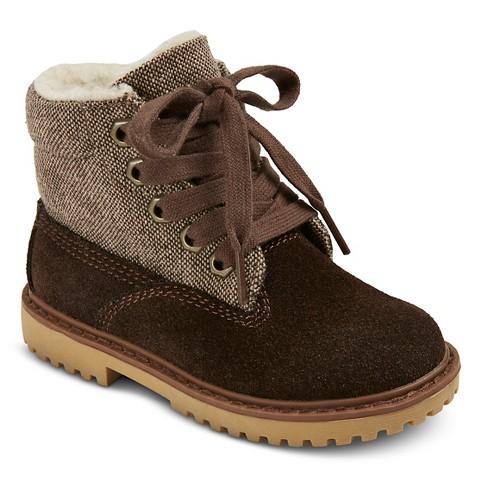 toddler boys dan boots brown target