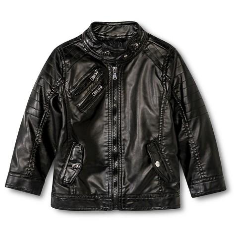 Urban Republic Toddler Boysu0026#39; Faux Leather Jacket  Target