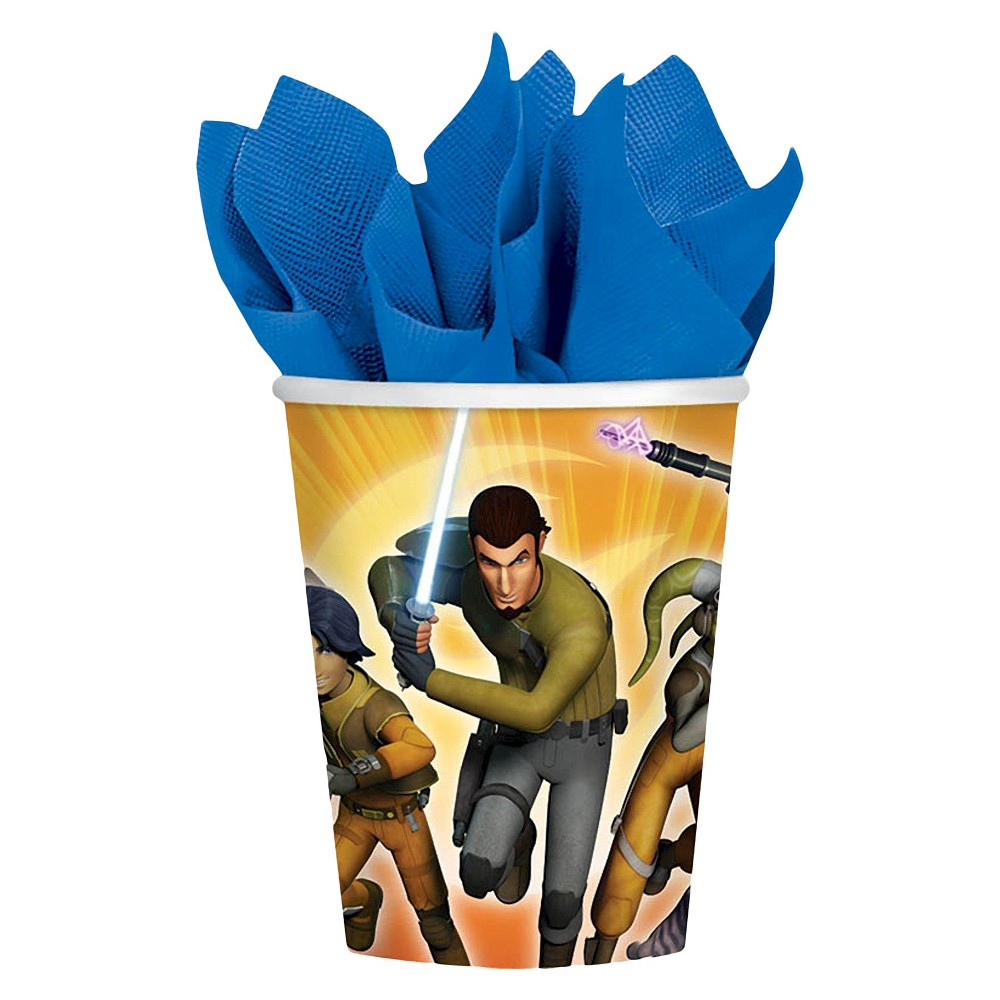 Star Wars Rebels 9oz Paper Cups - 8 count