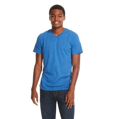 Men's V-Neck T-Shirt Blue - Mossimo Supply Co. S