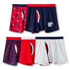 Boys' 5 pack Boxer Brief Underwear