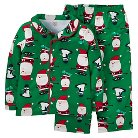 Just One You™ Made By Carter's® Toddler 2-Piece Santa Pajama Set - Green 3T