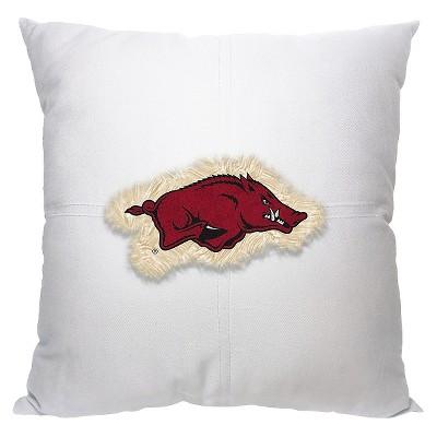Arkansas Razorbacks Logo Pillow
