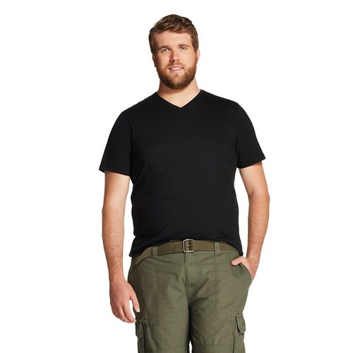 Men 39 s big tall v neck t shirt mossimo supply co for Mens tall v neck t shirts