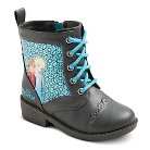 Disney® Toddler Girls' Frozen Combat Boots - Grey
