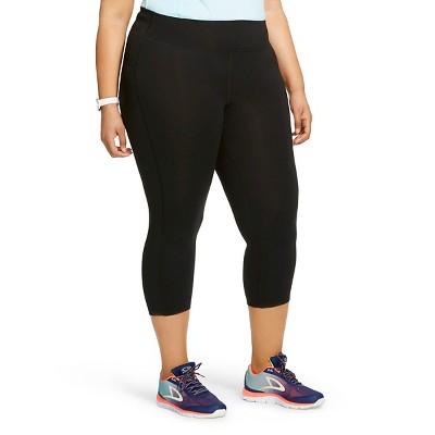 C9 Champion® Women's Plus Size Capri Tight Leggings - Black 2X
