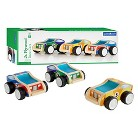 Guidecraft Toy Vehicles Jr. Plywood Race Cars