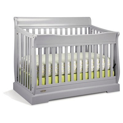 Graco Maple Ridge 4-in-1 Convertible Crib - Pebble Gray