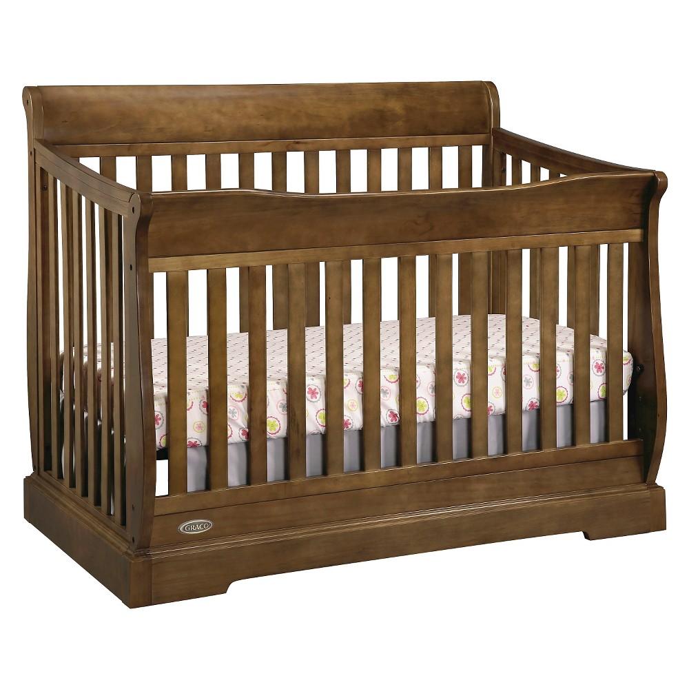 Graco Maple Ridge 4 In 1 Convertible Crib Maple Toddler