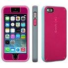 iPhone 5/5S/SE Case - Speck MightyShell + FacePlate - Fuchsia (SPK-A3741)