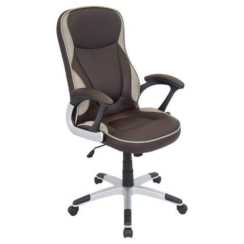 office chair brown lumisource target