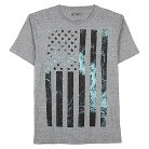 Men's Marble Flag T-Shirt XXL
