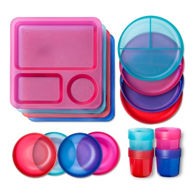 Circo™ Feeding Set - Multi-Colored (16 Each)
