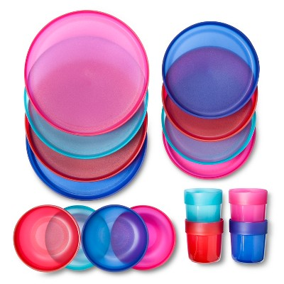 Dinnerware Set Circo Multi-colored Solid