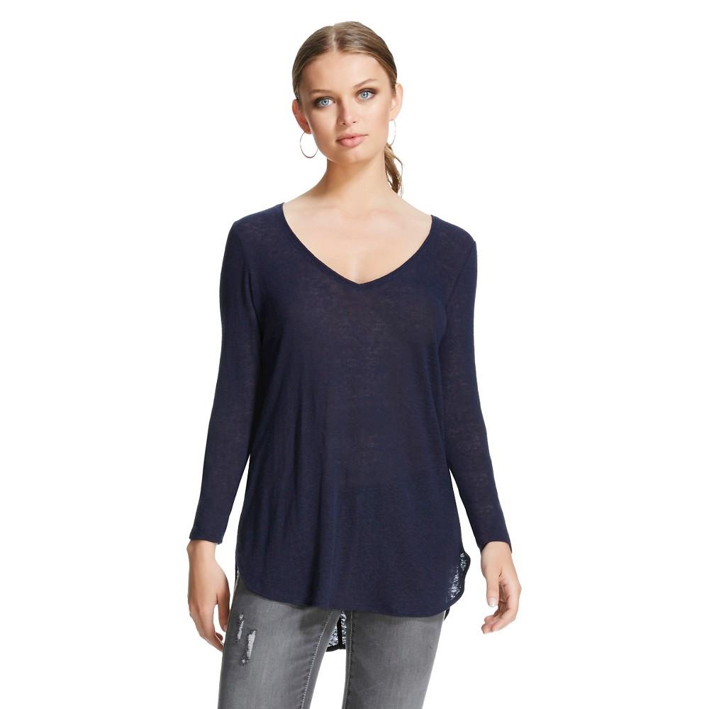 Women 39 s long sleeve v neck t shirt mossimo for Long sleeve v neck tee shirts