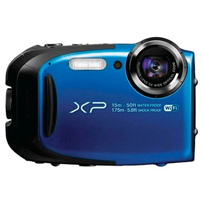Fujifilm FinePix XP80 Waterproof Digital Camera with 2.7-Inch LCD - Blue (16449430)