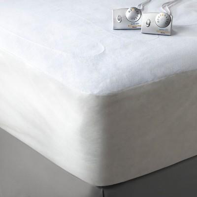 Biddeford Heated Mattress Pad - White (Queen)