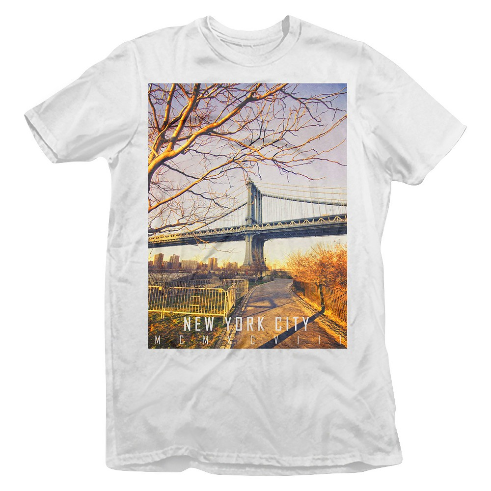 Men 39 S New York City T Shirt White Rebels Nomads