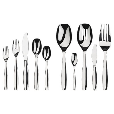 Gourmet Flatware Settings Cruise 45 Piece Flatware Flatware Set