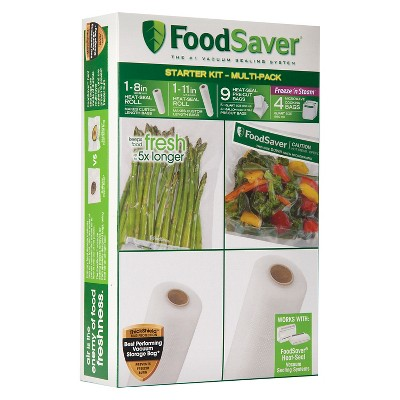 FoodSaver® Multi-Pack Starter Kit, FSFSBF0947-027