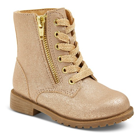 toddler diedre fashion boots gold target
