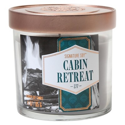 Cabin Retreat Candle