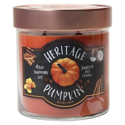 Heritage Pumpkin 15.2z
