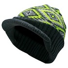 Boys' Beanie Hat Black, Lime and Blue One Size Fits Most - Cherokee®