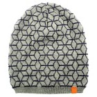 Boys' Beanie Hat Blue and Grey One Size Fits Most - Cherokee®