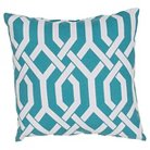 """Jaipur Veranda Handmade Polyester Pillow - Green/Ivory (20""""x20"""")"""