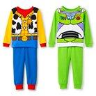 Disney Boys' Toy Story 4 Piece Cotton Pajama Set