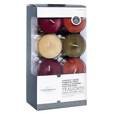 Harvest 24 Pack Tealights