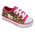 Hello Kitty Toddler Girl's Animal Print Sneakers - Multi-Colored