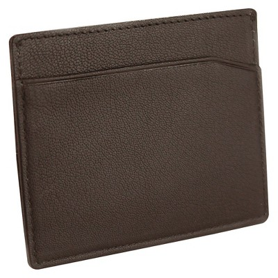 Mens leather wallets target