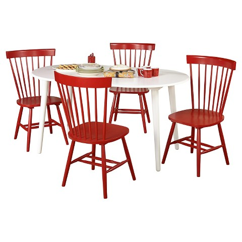 tms 5 piece virginia dining set white download