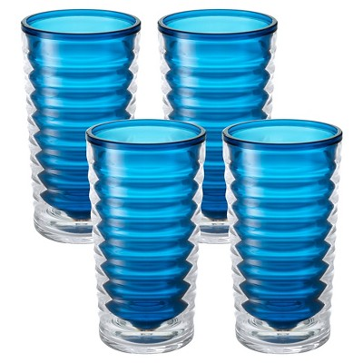 Tervis Entertaining Collection Tall 4 Piece Tumbler - Blue Infusion (16 oz)