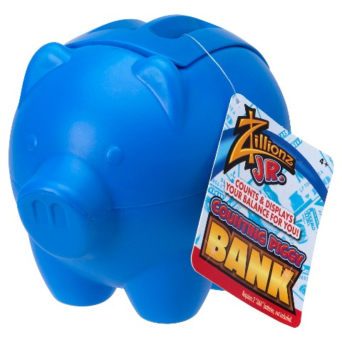 Zillionz counting piggy bank target - Counting piggy bank ...