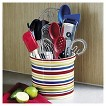 Chefs Striped Crock - Multi-Colored
