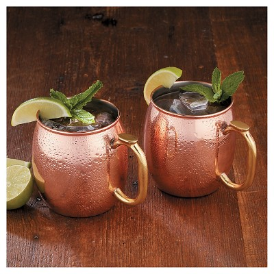 Ecom Drinkware Set Chefs Copper