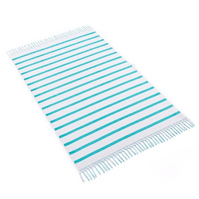 Kassatex Alanya Beach Towel - Aqua
