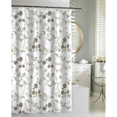 Kassatex Giardino Shower Curtain - Neutral