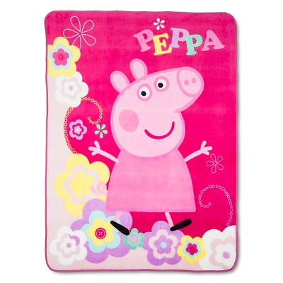 "Peppa Pig Throw - Multicolor (46""x60"")"