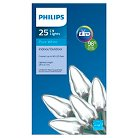 Philips LED C9 Lights Pure White 25ct