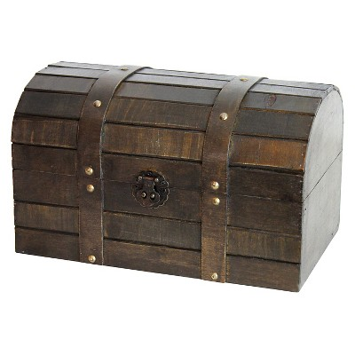 Old Style Barn Wood Trunk - Quickway Imports