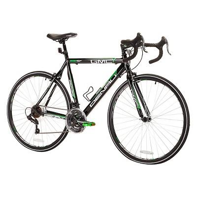 "GMC Denali 700c Road Bike 25""  - Black/Green"