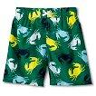 Baby Boys' Crab Swim Trunks - Green