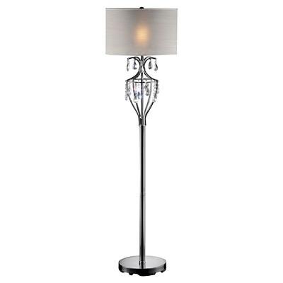 Katrina Crystal Embellished Floor Lamp